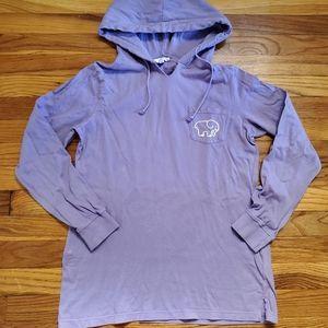 Ivory Ella lightweight hoodie hooded sweatshirt